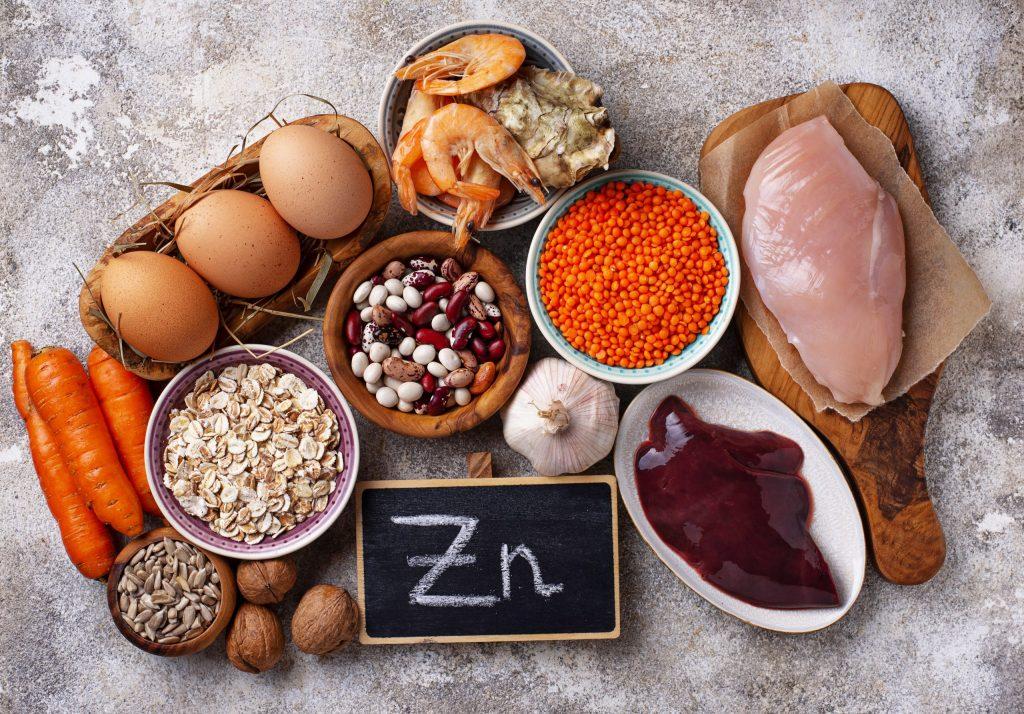 sources alimentation zinc