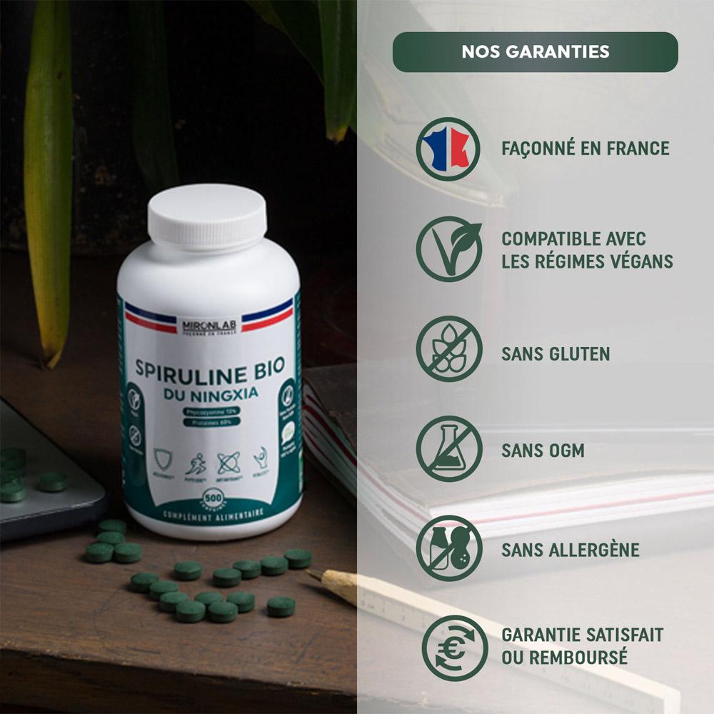 garantie-mironlab-spiruline